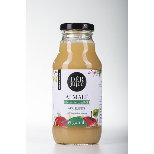 Gyümölcslé, Dér Juice Almalé 100%  0,33l