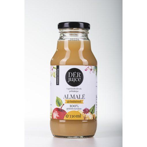 Gyümölcslé, Dér Juice Almalé Gyömbérrel 98-2% 0,33l