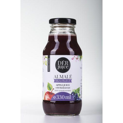 Gyümölcslé, Dér Juice Almalé Feketeribizlivel 80-20% 0,33l